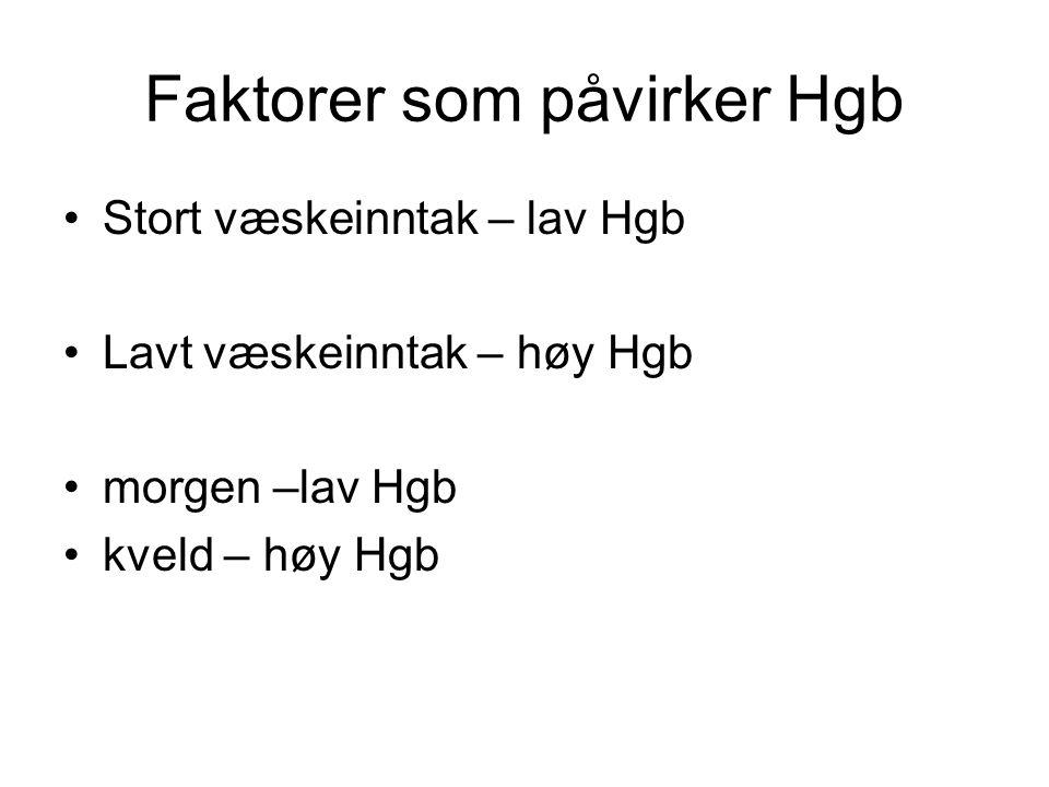 lav hgb