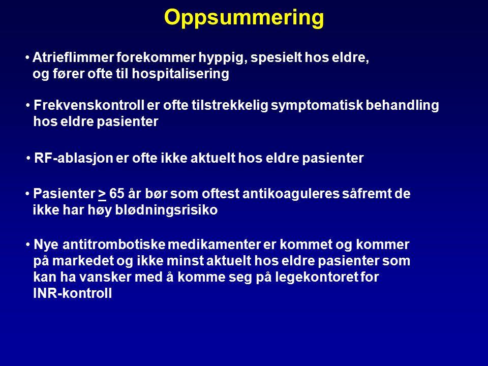 atrieflimmer symptomer