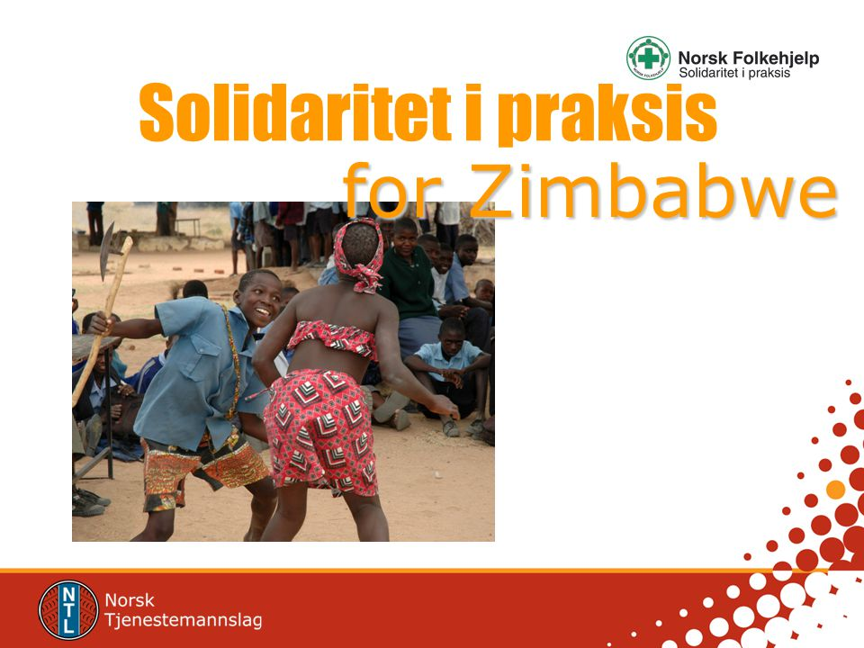 Solidaritet i praksis for Zimbabwe
