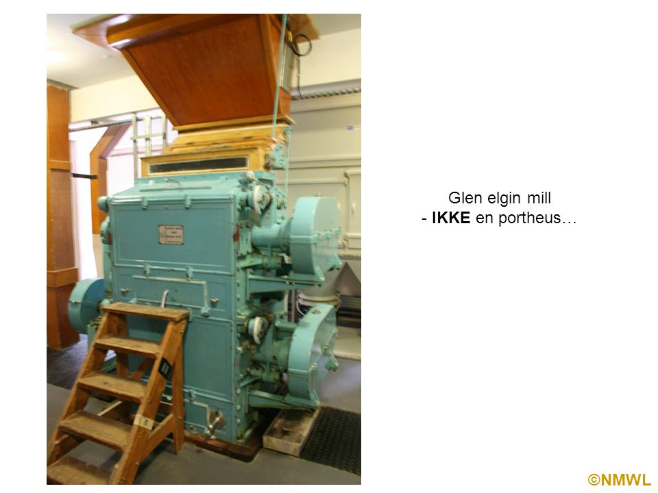 ©NMWL Glen elgin mill - IKKE en portheus…