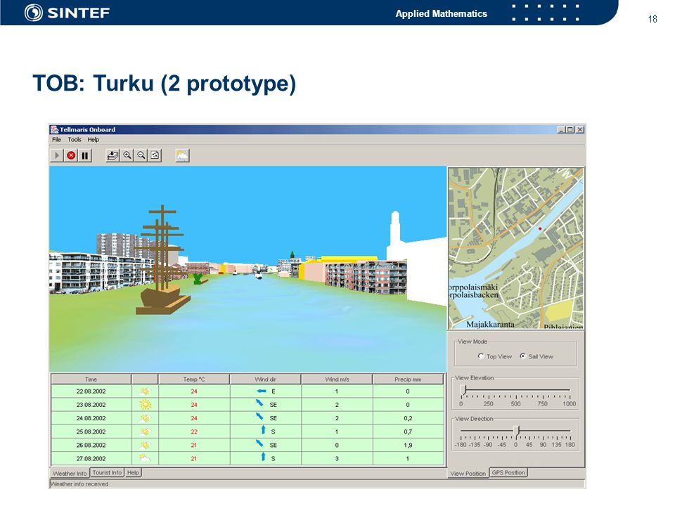 Applied Mathematics 18 TOB: Turku (2 prototype)