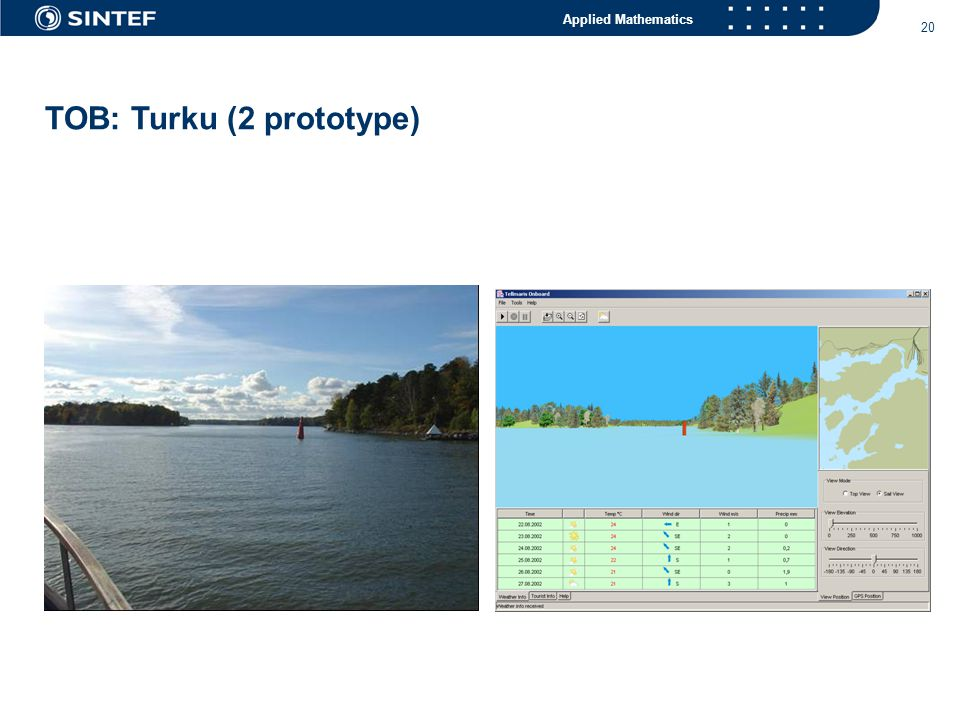 Applied Mathematics 20 TOB: Turku (2 prototype)