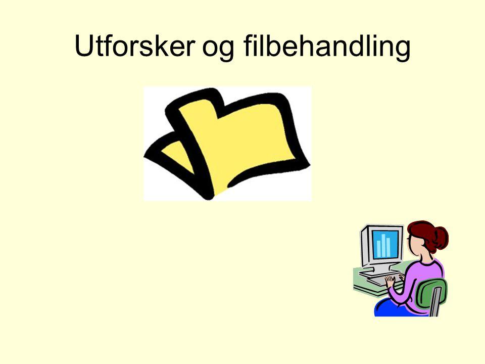Larvik Og Omegn MS Foreningen sin PC opplæring høsten ppt