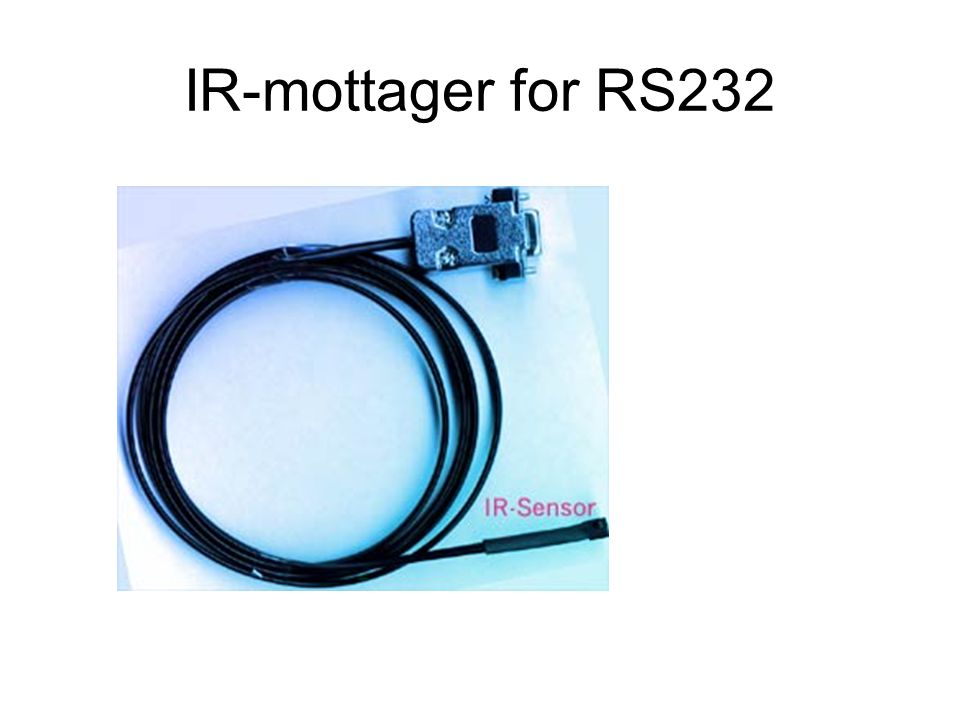 IR-mottager for RS232