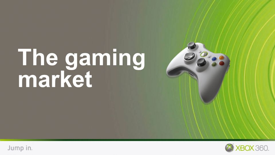 The gaming market