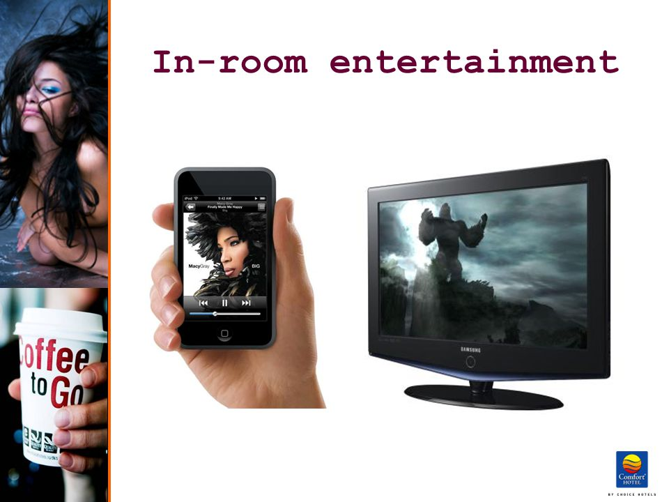 In-room entertainment