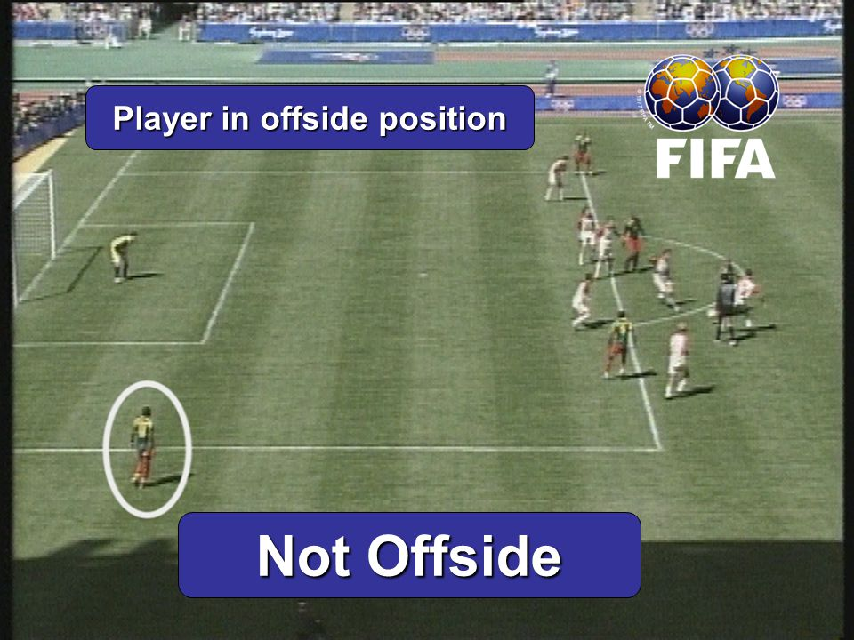 Player in offside position Not Offside
